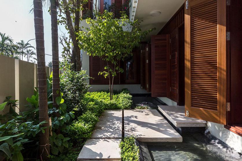 Thiết kế cảnh quan biệt thự ngoại thành Thạch Thất