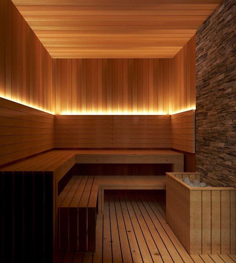 Phòng xông hơn cho Nam trong tổng thể Spa tại khách sạn Bamboo Đà Nẵng