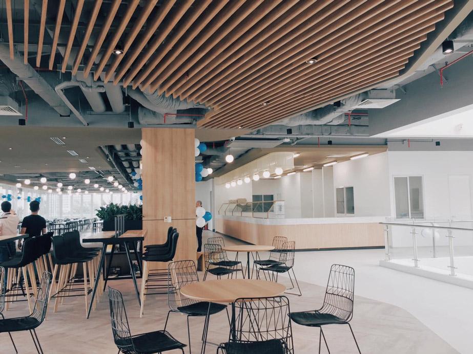 Thiết kế Coffee kết hợp khu làm việc cho các Startup