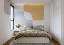 Phòng ngủ sau khi cải tạo mang phong cách hiện đại