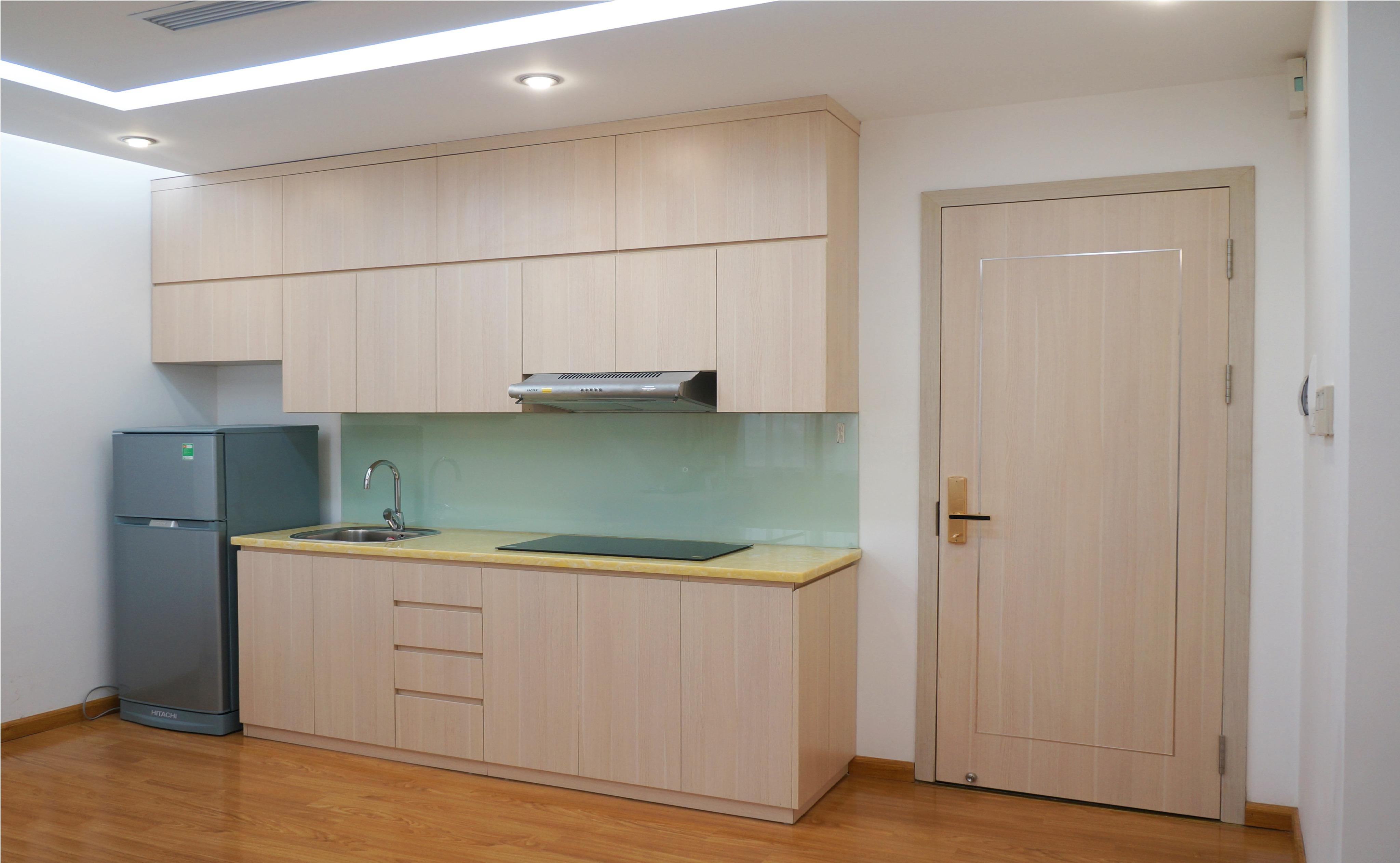 Khu bếp căn hộ Studio 35m2