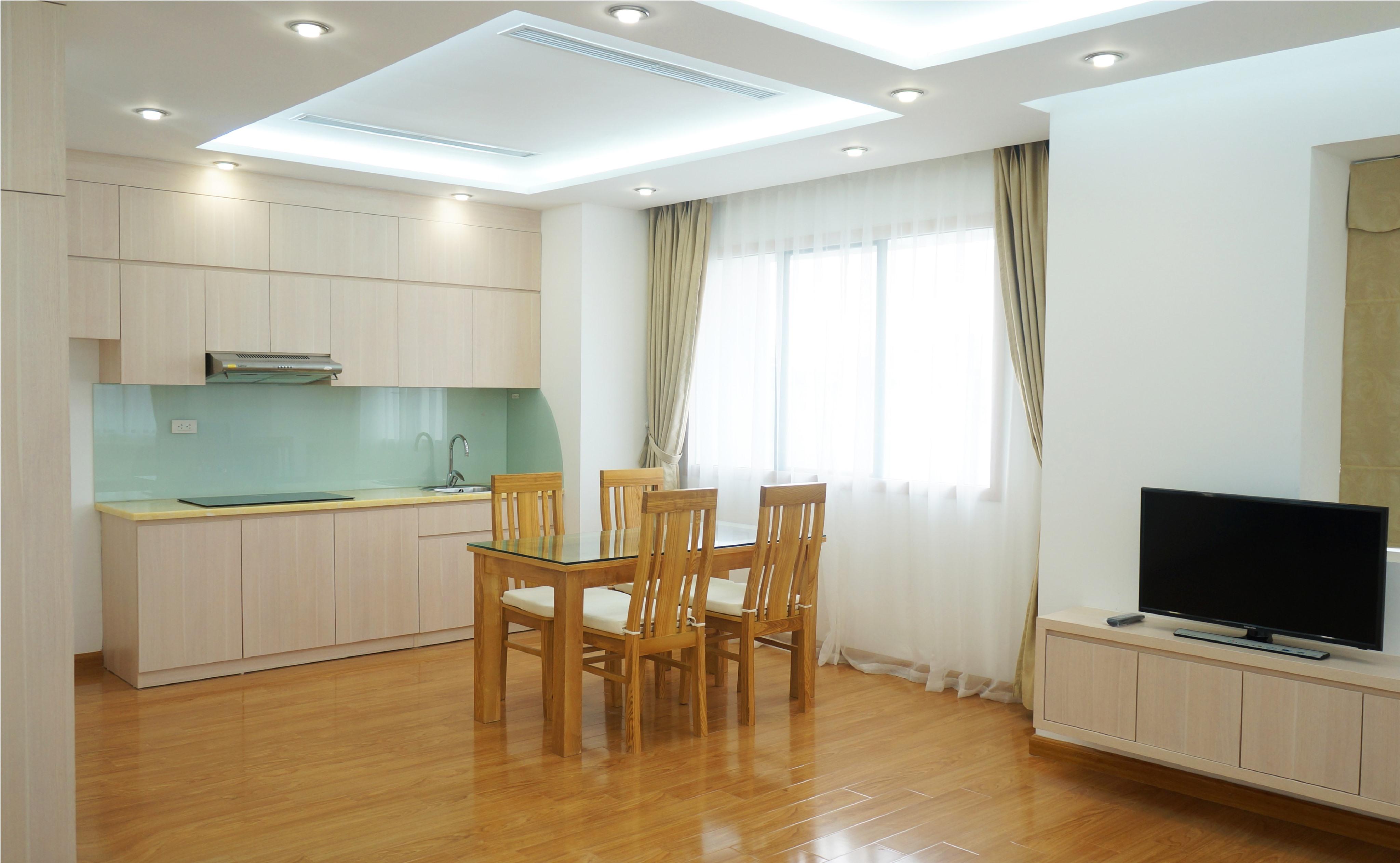 Khu bếp cho căn hộ Studio 50m2