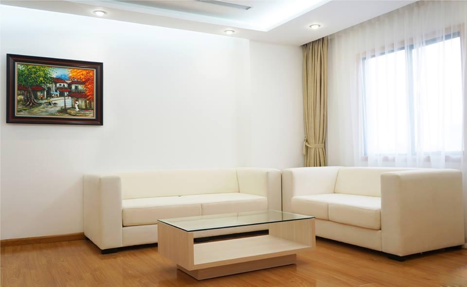 Khu phòng khách căn hộ Studio 55m2