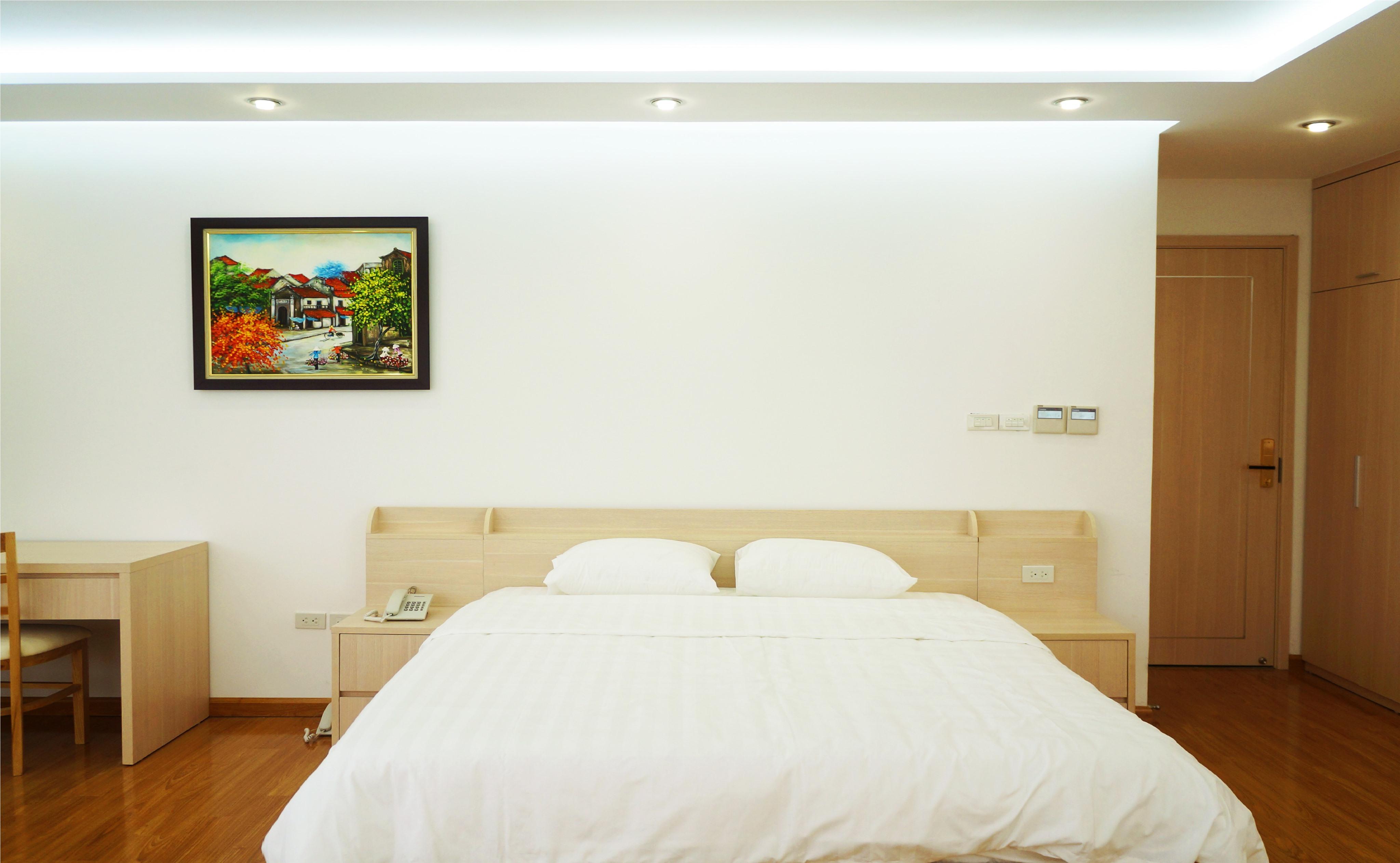 Phòng ngủ căn hộ Studio 50m2