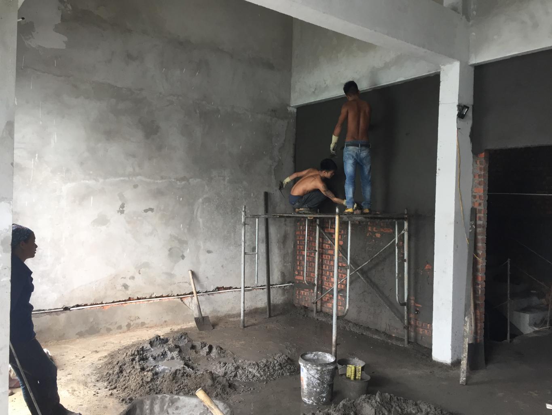 Trát tường trong nhà