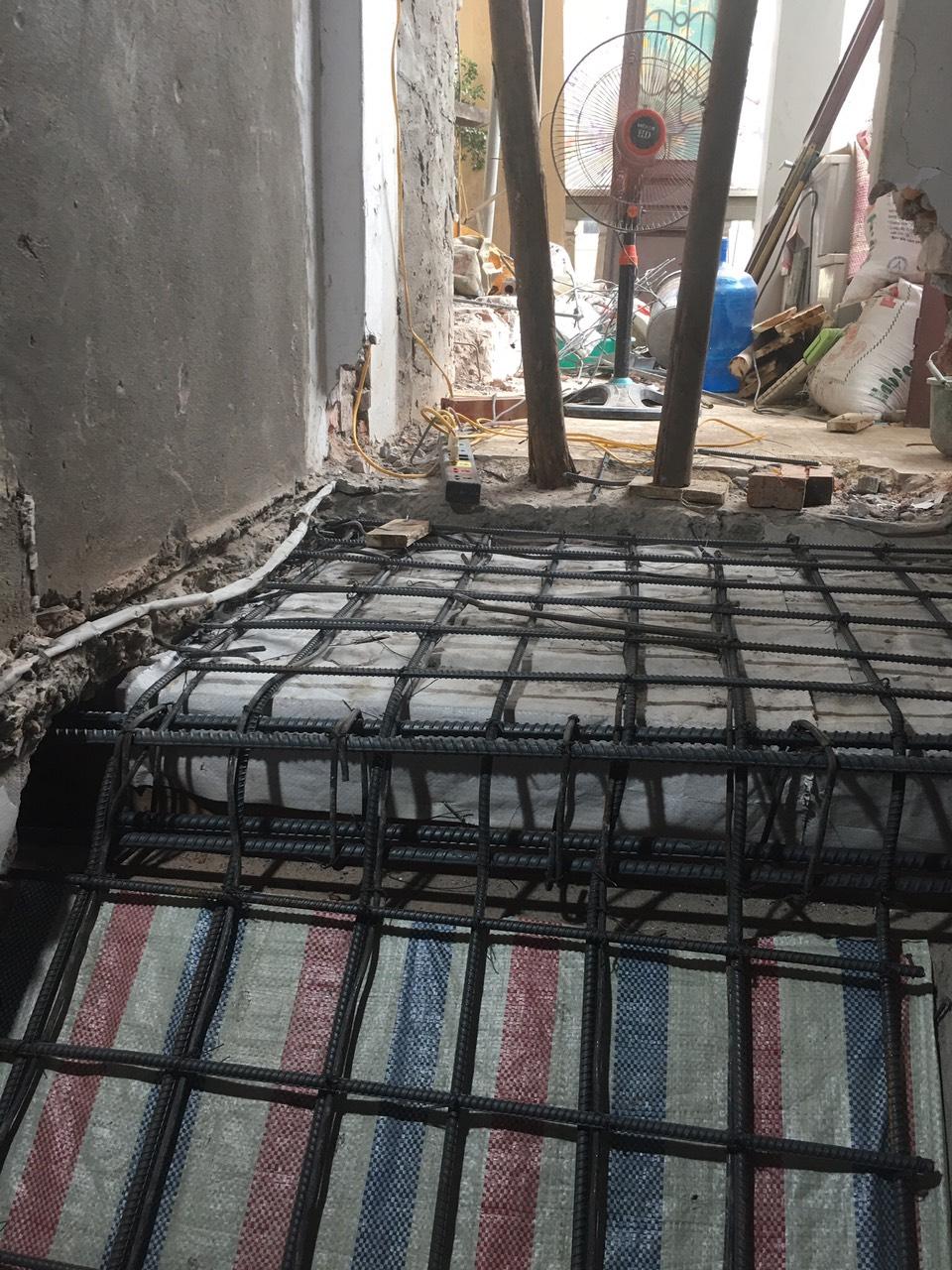 Đổ bù bê tông tăng diện tích sàn