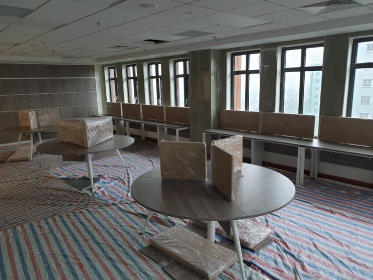 Bước hoàn thiện nội thất văn phòng cho thuê