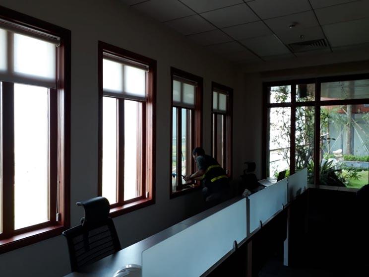 Giai đoạn hoàn thiện văn phòng
