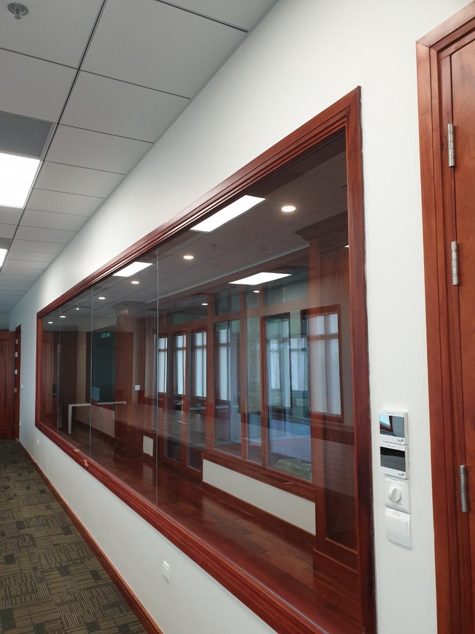 Giai đoạn hoàn thiện văn phòng sau khi sửa chữa cải tạo