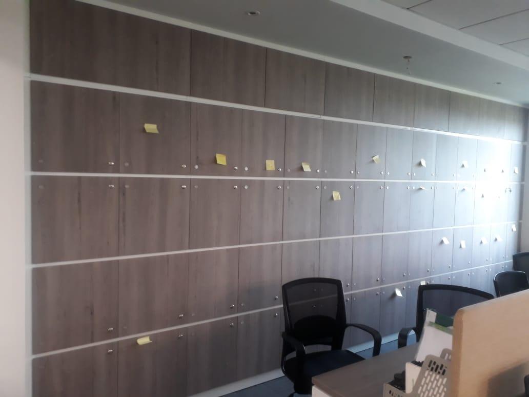 Hệ thống tủ cho nhân viên