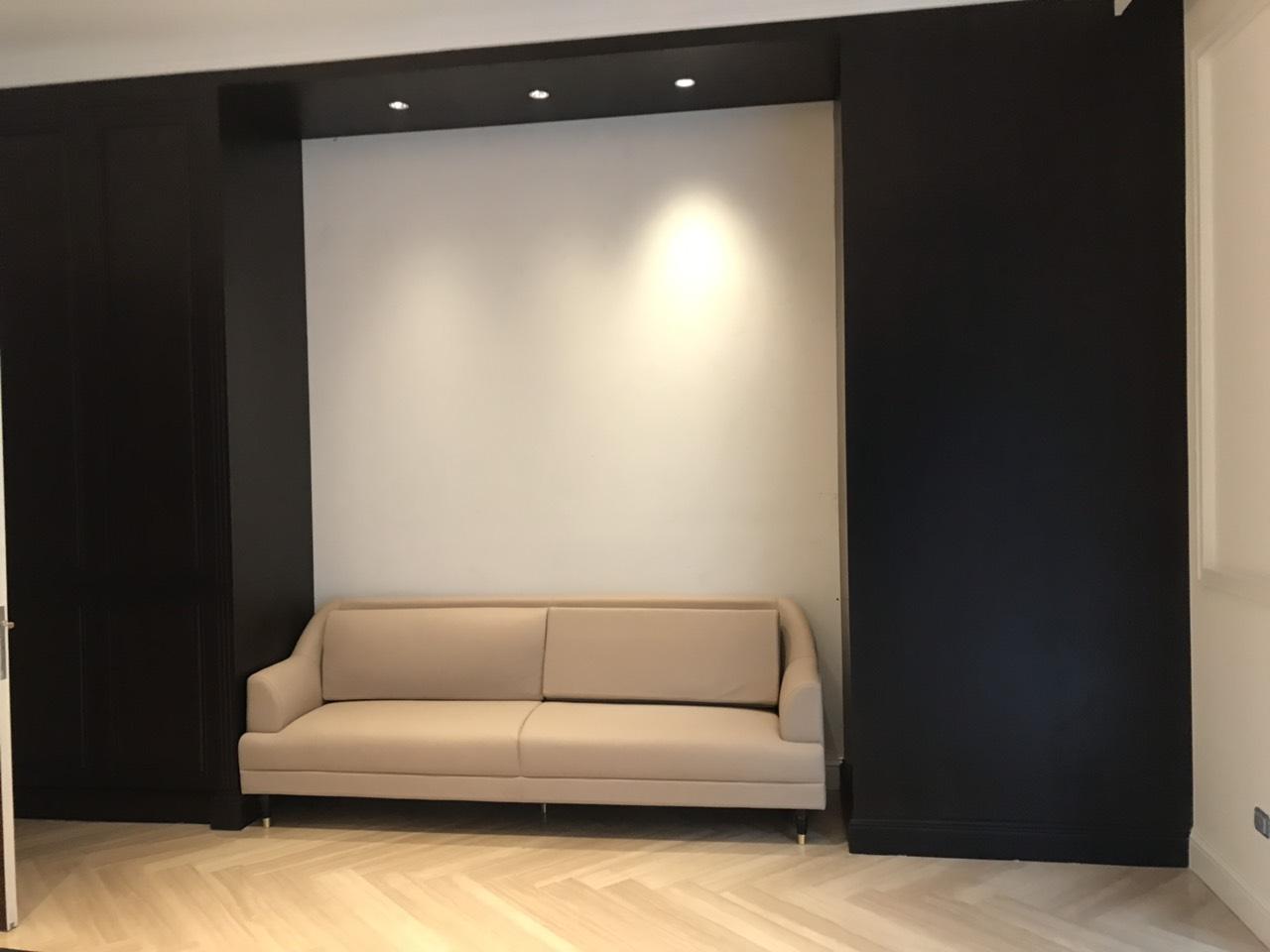 5.1. Phòng sang trọng với tông màu tương phản