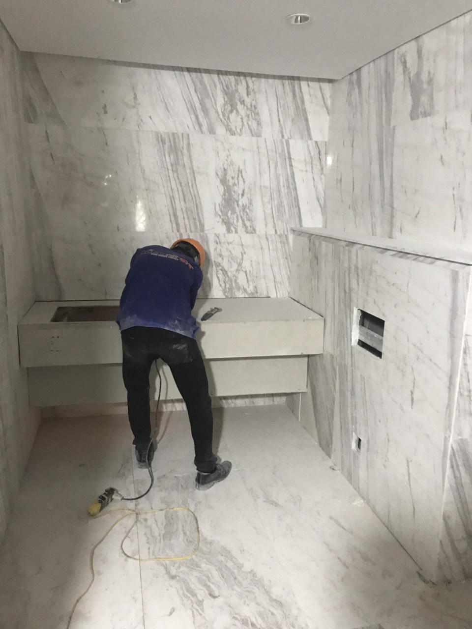 6. Lắp chậu WC BOD - Tây Hồ_